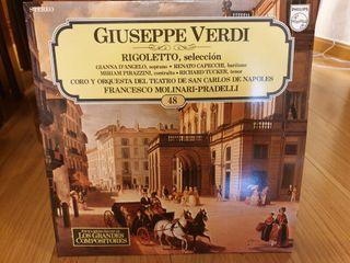 Disco vinilo Giuseppe Verdi