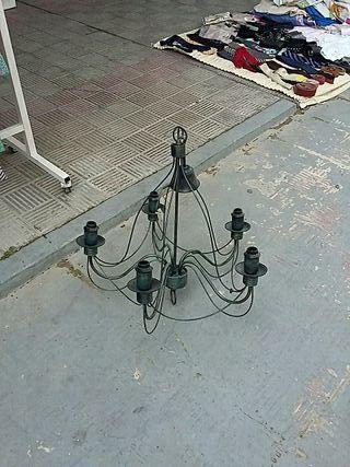 lampara de forja