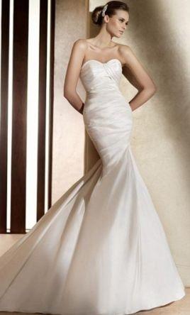 bd130efc10 Vestido de novia Pronovias de segunda mano en Fuengirola en WALLAPOP