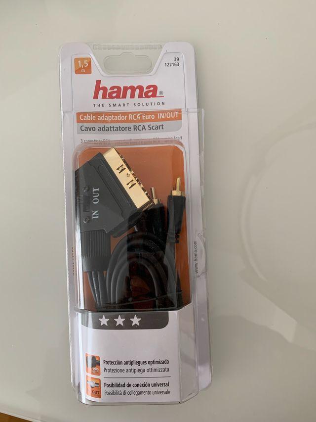 Cable adaptador RCA Euro de segunda mano por 9 € en Zaragoza
