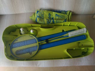 caja maleta red desmontable badminton