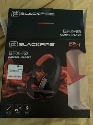 Auriculares gaming para ps4 blackfire