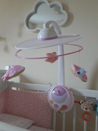 Móvil cuna de bebe