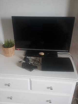 Televisión tv + ps3 con 12 juegos
