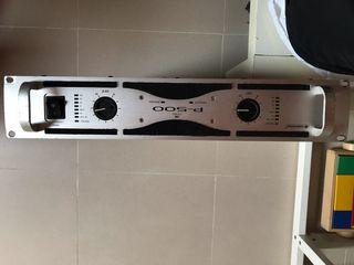 Amplificador Omnitronic 500W (2x 240)