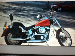 Moto Harley Davidson softail 1340softail custom