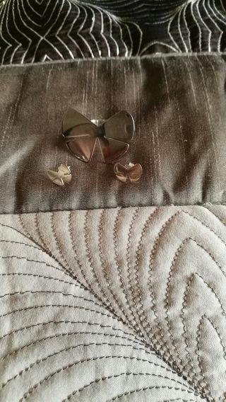 Conjunto pendiente y anillo Tous