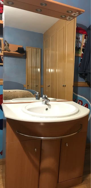 Mueble de baño completo