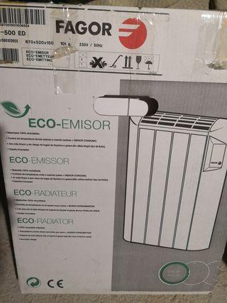 Estufa, radiador seco de 500 w