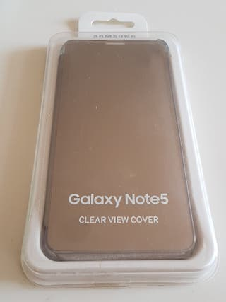 Samsung note5 clear view cover