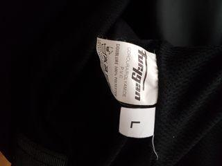 chaqueta furygan de moto negra