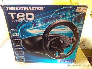 VOLANTE THRUSTMASTER T80 PS4 Y PS3