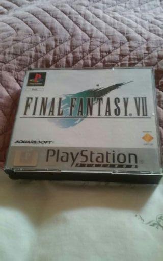 juego play Final Fantasy VII