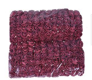 Lot : 144 pieces mini rose couleurs au choix