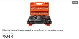 Caja herramientas de 46 piezas