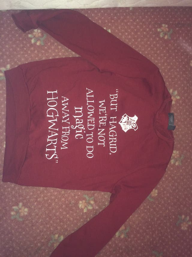 Harry Potter jumpers size 10