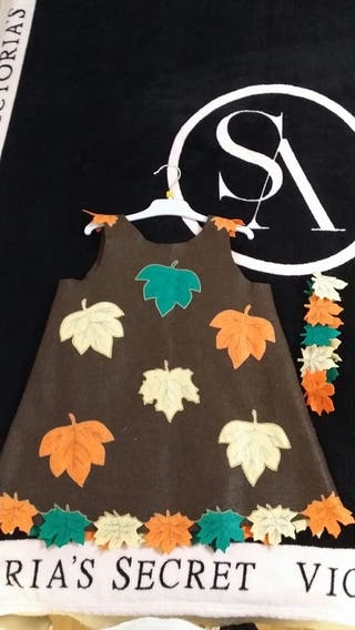 disfraz otoño con diadema