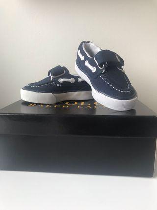 Zapatos NUEVOS T.22 Bebé Niño Polo Ralph Lauren