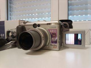 Camara Canon Powershot G3 + extras