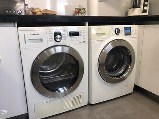 Juego lavadora 12 kg y secadora 8 Kg