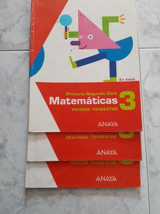 Libros de primaria Anaya de segunda mano en WALLAPOP