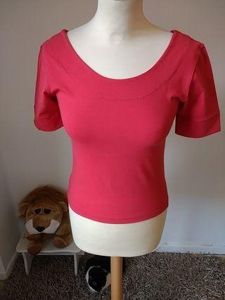 Camiseta roja NUEVA Talla M - 38
