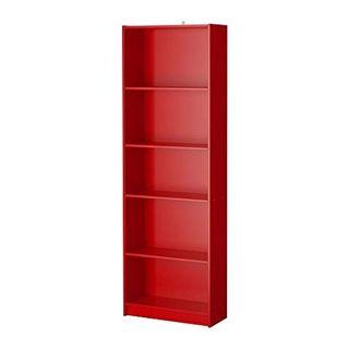 Mueble estantería color rojo (Ikea)