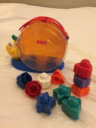 Caracol formas Fisher Price