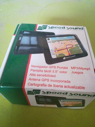 navegador GPS marca Speed Sound NUEVO