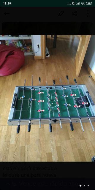 Futbolin+ billar+ ping pong