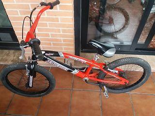 bicicleta BMX de aluminio