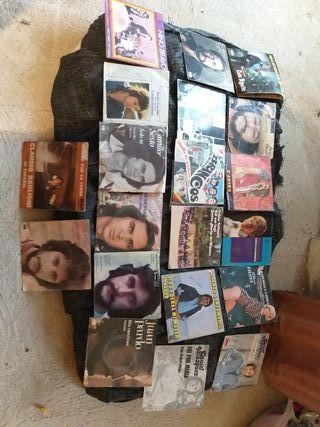 22 discos 45 revoluciones años 60 70