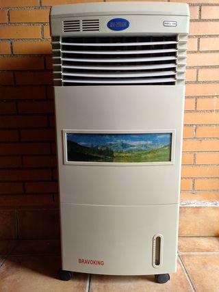 calefactor aire calor frio