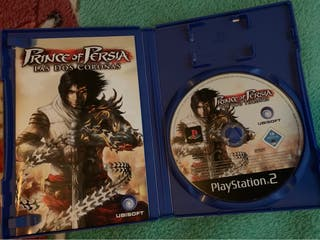 Prince of persia, las dos coronas ps2