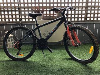 Bicicleta junior 24 pulgadas rockrider