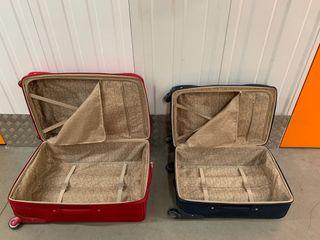 Conjunto de maletas viajeras