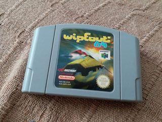 Juego Wipeout 64 Nintendo 64