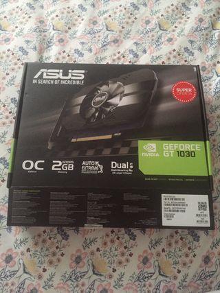 Tarjeta grafica Nvidia Asus GeForce gt 1030 2gb oc