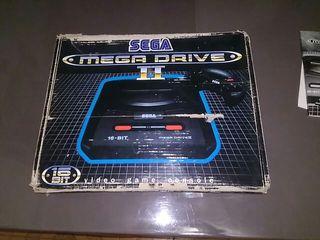 consola Sega Mega driveII
