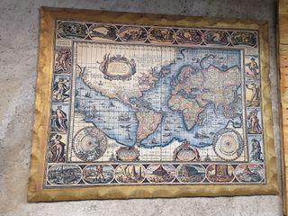 Cuadro Mapa Mundi