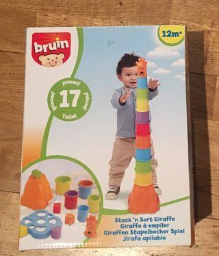Lote juguetes encajables y apilables