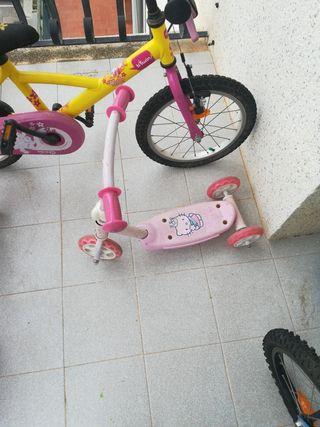patín de niña