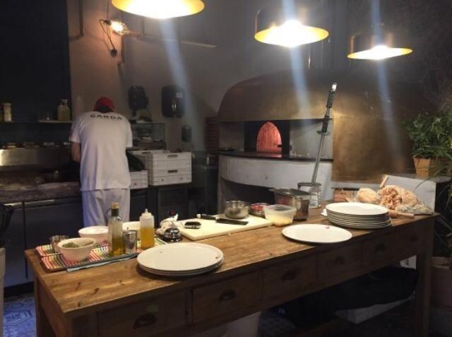 Horno pizza de gas - pizzeria y restaurante