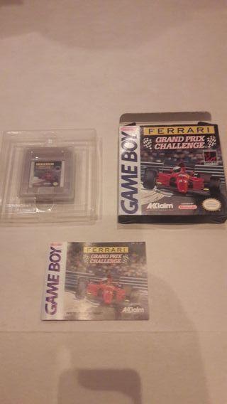 Ferrari Game Boy