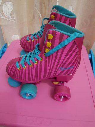 patines de niña.