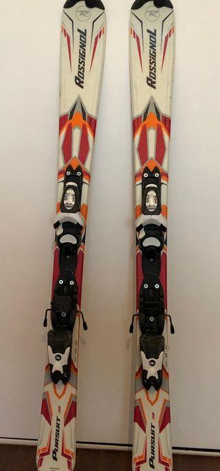 Equipo completo esquí niño 4-6 años-esqui+botas