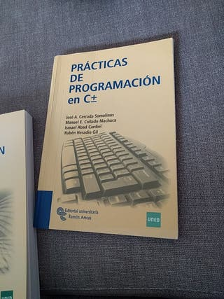 Prácticas programación C+- UNED