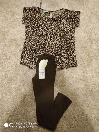 blusa y leggins