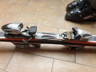 esquís head y botas esquiar salomon 43 44