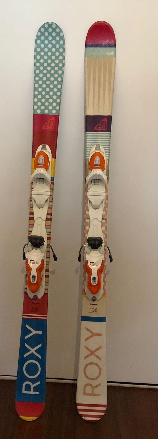 Equipo completo esquís niña 6-9 años- esquís+botas